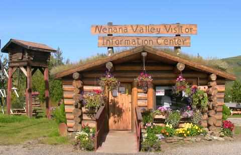 Visitor Center in Nenana just south of Fairbanks and north of Denali