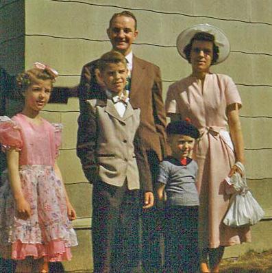 Leaving Fairbanks - Spring 1952