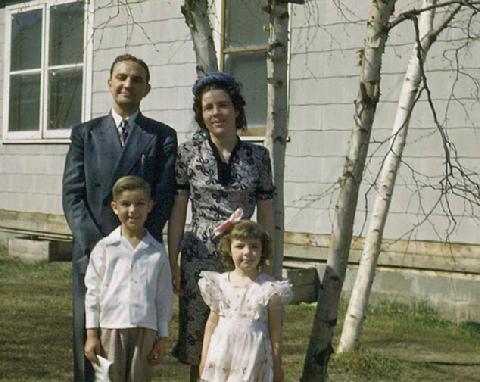 Family Minus One, Fairbanks Summer 1951