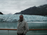 David at Marjorie Glacier