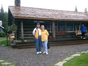 David & Kathy at Taku Lodge