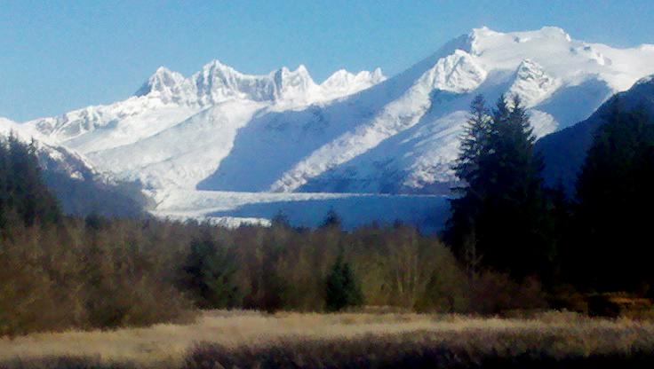 Mendenhall Glacier winter