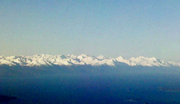 Wrangell Mtns from air