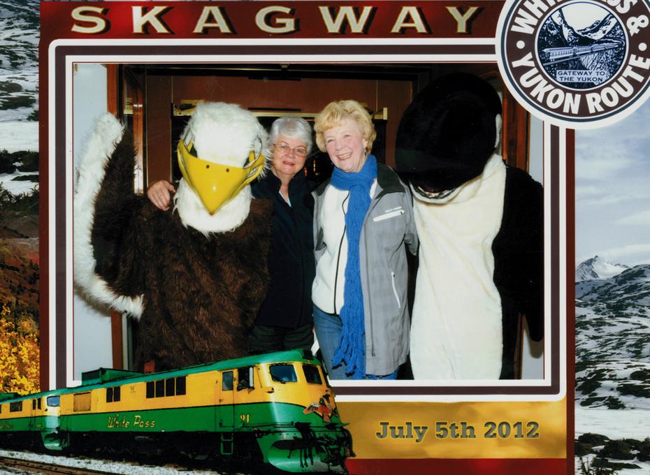 Darry & Me  in Skagway, July 5