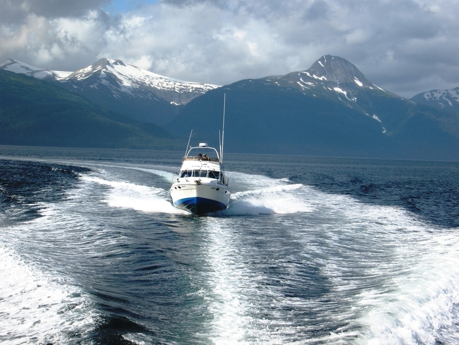 Salmon charter out of Juneau