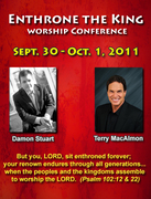 Enthrone the King Worship Conference!