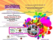 """Roc-A-Natural """"H.O.T.S"""" Heal Ones Total Self Pavilion: A Kujichagulia Day of Healing"""