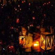 Torch-lit procession / ΑΝΑΒΙΩΣΗ ΤΟΥ ΕΘΙΜΟΥ ΤΗΣ ΛΑΜΠΑΔΗΦΟΡΙΑΣ