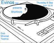 Dub, Techno, Minimal Party at Evinos