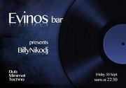 Dj BillyNiko at Evinos bar