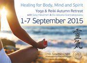 Yoga & Reiki Retreat with Sasy Hasomeri and Evi Advaita Giannakopoulou