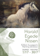 Painting Exhibition • Harald Egede • Έκθεση Ζωγραφικής
