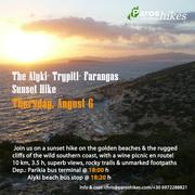 The Alyki- Trypiti Sunset Hike + Fish Fest in Alyki