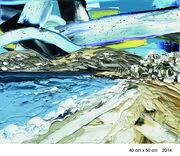 "Paintings of Paros Exhibition • Ο Αχιλλέας Χριστίδης ζωγραφίζει την ""ΠΑΡΟ"""