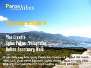 The Livadia- Agios Fokas- Telegrafos- Delion Sanctuary Walk