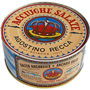 Buy Seafood Online - Agostino Recca Anchovies