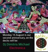 Celebrating 2 years at Sativa Music Bar
