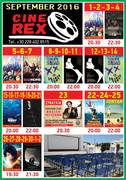 Cine Rex: September Program