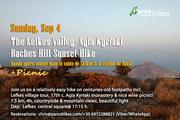 The Lefkes Valley & Agia Kyriaki Monastery Sunset Hike + Picnic