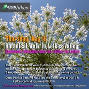 Βotanical Walk in Lefkes Valley - Randonnée Botanique à Lefkes