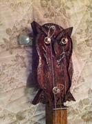 Owl build Headstock