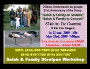 Salah & Family In Concert / Montreal International Steelpan Festival