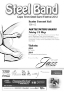 Cape Town Steel Band Festival 2012