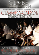 FIRST ANNUAL CLIVE BRADLEY MEMORIAL CLASSIC & CAROL MUSIC FESTIVAL
