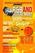 Despers USA Steel Orchestra, Inc. presents R&B and Reggae Night