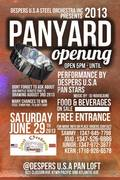 Despers USA Panyard Opening
