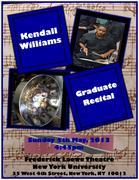 Kendall Williams Graduate Recital