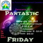 Pantastic Friday - St. Lucia Panorama 2013