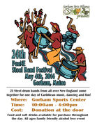 24th Annual PanNE Steel Band Festival