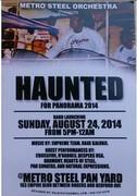 "Metro Steel Orchestra presents ""Haunted"""