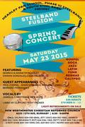 Steelpan Fusion Spring Concert
