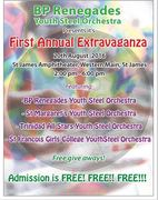 BP Renegades Youth Steel Orchestra Presents First Annual Extravaganza