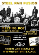 Steel Pan Fusion Album Launch