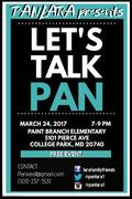 Let's Talk PAN - Lecture Series