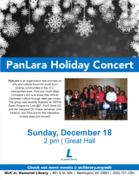 PanLara Steelband Holiday Concert & Steelpan Workshop