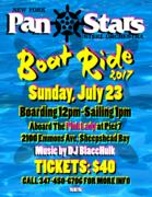 NY Pan Stars Boat Ride