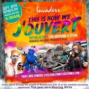 "Invaders Steel Orchestra presents: ""This Is How We J'Ouvert"""
