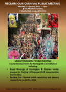 The struggle for Notting Hill Carnival - ROC EMERGENCY MEETING