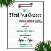 Free Steelpan Classes