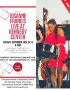 Josanne Francis LIVE at the Kennedy Center