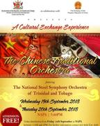 Chinese Traditional Orchestra and Trinidad National Steel Symphony Orchestra
