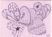 PEGGY MELANSON AND HER ZENTANGLES
