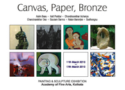"Exhibition-""Canvas,Paper,Bronze"""