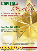 Capital and Revelry - The Orlando Minority Professionals Network Christmas Party & Business Showcase