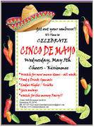Cinco de mayo Party at Cheers Kissimmee