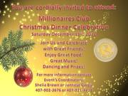 Christmas Dinner Celebration Hosted by the Millionaires Club